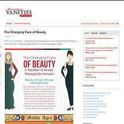& The Changing Face of Beauty & Premiere Vanities Blog