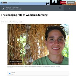 The changing role of women in farming