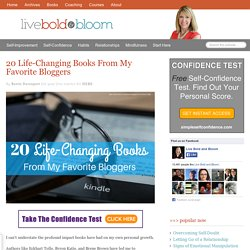 20 Life Changing Books Written By Top Bloggers