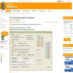 17 Channel Logic Analyzer