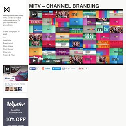 MiTV - CHANNEL BRANDING