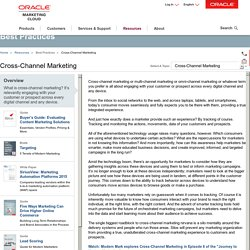 Cross-Channel Marketing Best Practices