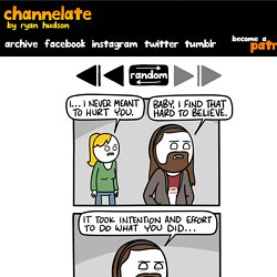 channelATE.com Comics and Cartoons by Ryan Hudson