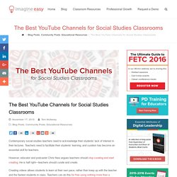 The Best YouTube Channels for Social Studies Classrooms