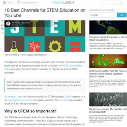 10 Best Channels for STEM Education on YouTube