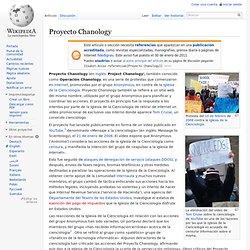 Proyecto Chanology