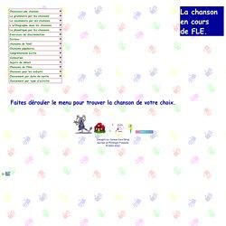 La chanson francophone en cours de FLE