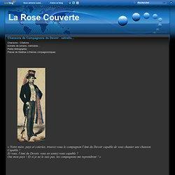 Chansons de Compagnons du Devoir - extraits... - La Rose Couverte - Canne française et Bâton