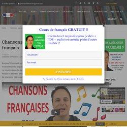 Chansons françaises pour apprendre le français - Français avec Pierre