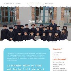 Chant'Ecole – Ecole Saint François Xavier