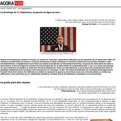 Le Chantage du 11 Septembre, la gauche en ligne de mire