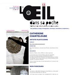 CATHERINE CHANTELOUBE - artiste plasticienne - L'oeil dans sa poche