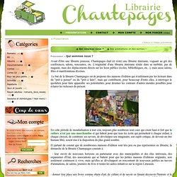 Site de la librairie Chantepages : spécialisée jeunesse et librairie itinérante