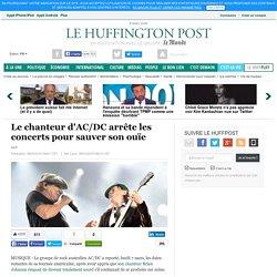 Le chanteur d'AC/DC arrête les concerts pour sauver son ouïe