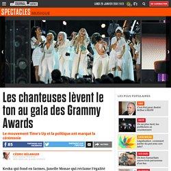 Les chanteuses lèvent le ton au gala des Grammy Awards