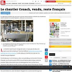 Le chantier Couach, vendu, reste français