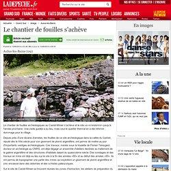 Le chantier de fouilles s'achève - 13/09/2014
