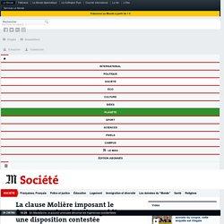 La clause Molière imposant le français sur les chantiers publics, une disposition contestée