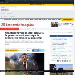 Chantiers navals de Saint-Nazaire: le gouvernement assure que la reprise sera bouclée au printemps