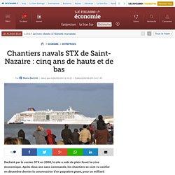 Chantiers navals STX de Saint-Nazaire : cinq ans de hauts et de bas