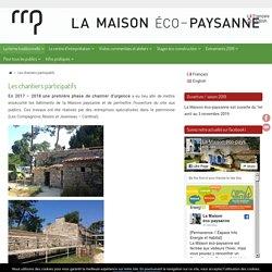 Les chantiers participatifs - La Maison éco-paysanne