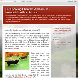 NOVA Pets Animal hospital and Pet Boarding in Chantilly VA