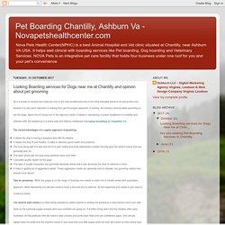 NOVA Pets Animal hospital and Pet Boarding in Chantilly VA