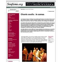 Chants soufis : le samaa