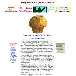 Chanukah Recipe