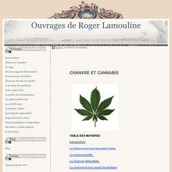 Chanvre et cannabis