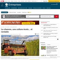 OUEST FRANCE 16/01/14 Le chanvre, une culture écolo... et rentable