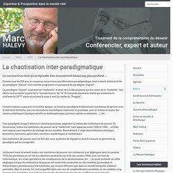 La chaotisation inter-paradigmatique