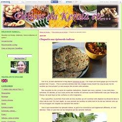 Chapatis aux épinards indiens - Délices du Kerala...