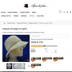 chapeau raphia femme-chapeau d'été en raphia