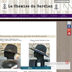 Chapeaux, pantalon, gilet gardian Vincent et Mireille