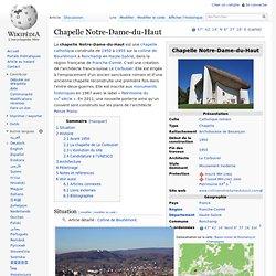 Chapelle Notre-Dame-du-Haut — Wikipédia - Waterfox