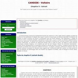 Chapitre 5 - Candide - Voltaire