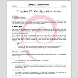 Chapitre37. Configuration réseau