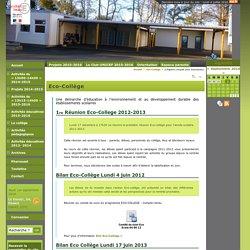 Eco-Collège (Chapitre complet pour impression - Collège Jean Corentin Carré