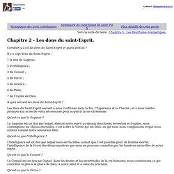 Chapitre 2 - Les dons du saint-Esprit. - Nightly