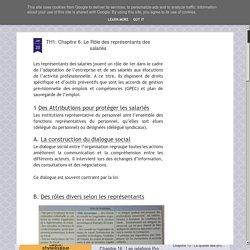 Le Rôle des représentants des salariés : délégués du personnel et délégués syndicaux