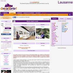 Musée chaplin's world - OnVaSortir! Lausanne