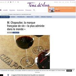 """M. Chapoutier, la marque française de vin """"la plus admirée dans le monde"""" - M. Chapoutier, la marque française de vin «la plus admirée dans le monde»"""