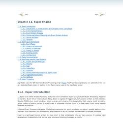 Chapter11.Esper Engine