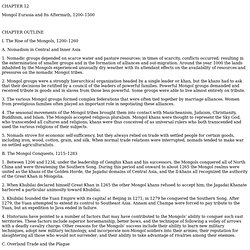 Chapter 12, 13 & 14 Summary