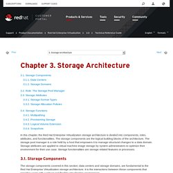 Chapter 3. Storage Architecture