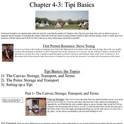 Chapter 4-3: Tipi Basics