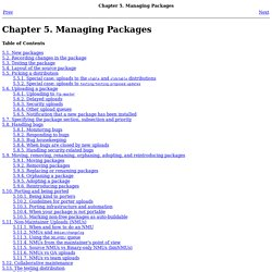 Chapter5.Managing Packages