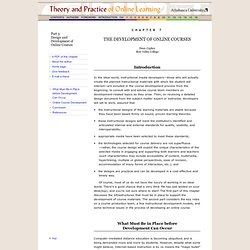 instructional design theories and models pdf