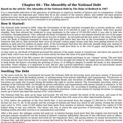 Chapter 66 - The Absurdity of the National Debt